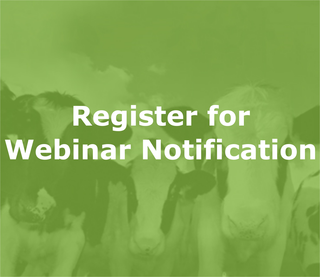 Register for Webinar Notification